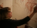 Nathan Taupez BTS CT Horror Movie Set