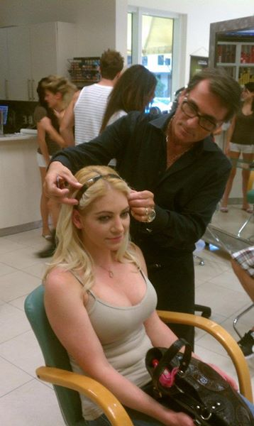 Think Global Media Inc; Nathan Taupez Hair Stylist & Make-up Team
