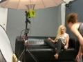 Nathan Taupez Think Global Media Inc BTS Photo Shoot