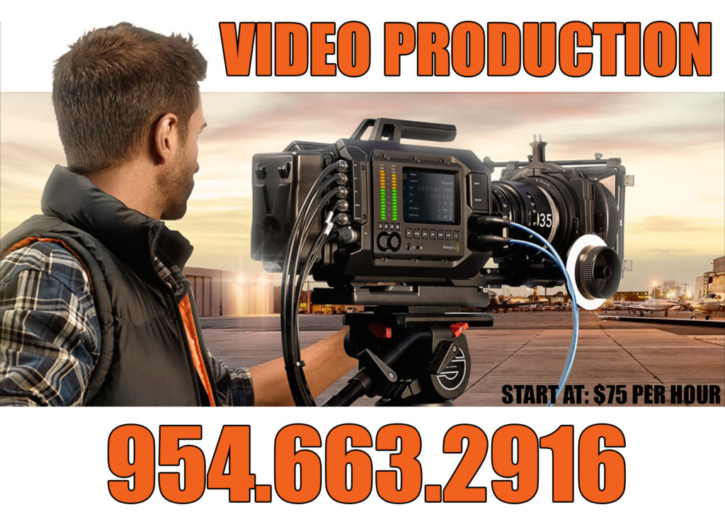 Central & South Florida Video Production Service