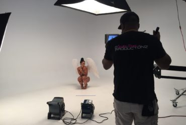 Nyadia Music Video Shoot