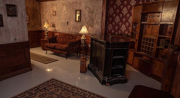 Old Hotel Lobby Set