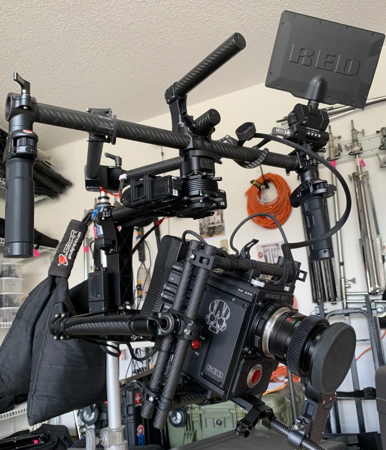 Red Weapon Digital Cinema Camera, DSMC2, Movi M15 Gimbal