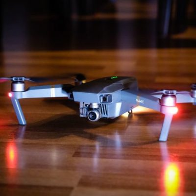 Mavic Pro drone package.