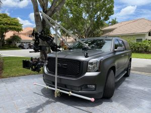 camera car, chase car, chase car rental, camera car rental, video production, rental packages, chase car rental packages, camera car rental packages, video camera car, camera rental packages, cinema camera packages, RED gemini, vibration isolator, DJI Ronin 2, proaim airwave v15