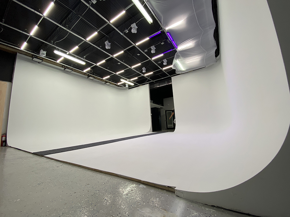 Video and photography studio rental.